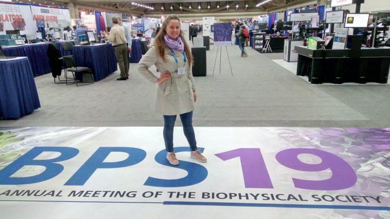 Olha Brovarets -Biophysical Society Mtg